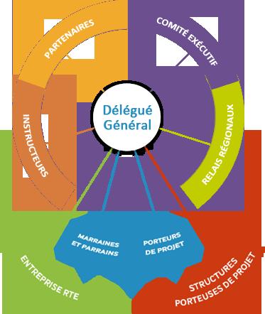 Schéma sur la gouvernance et organisation