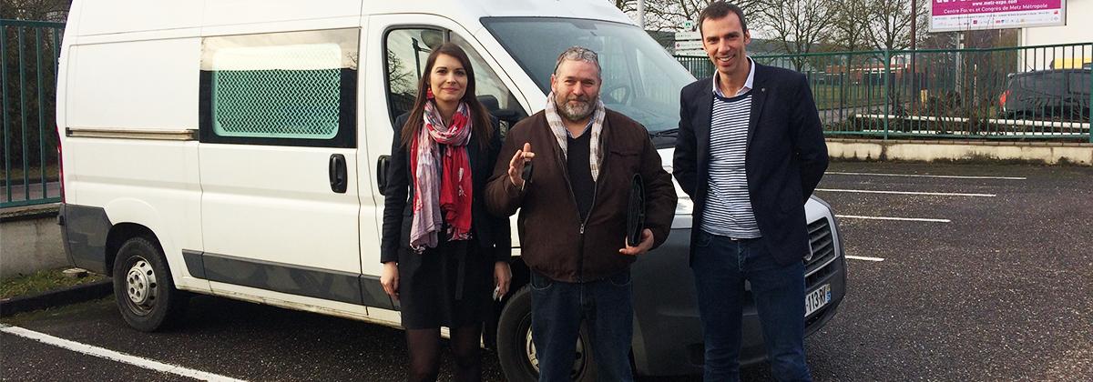 Le 6 février 2017, à Metz, l'entreprise RTE (Réseau de Transport d'Électricité) remettait les clés d'un de ses véhicules réformés à une association soutenue par sa Fondation, l'Association Jardin de Cocagne Lozère (AJCL), pour lui permettre de développer ses activités.