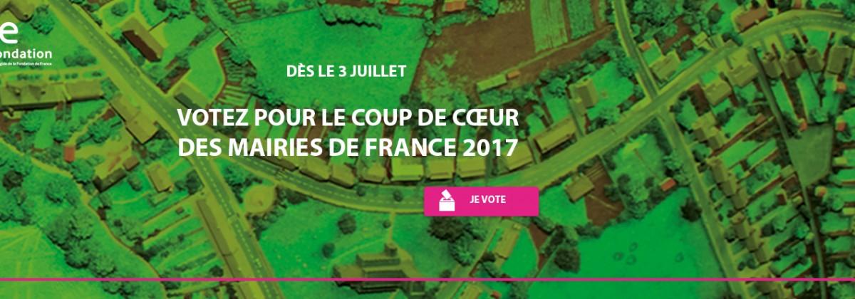 À 15 jours du lancement officiel du «Coup de cœur des mairies de France2017 » par la Fondation Rte et l'Association des maires de France et des présidents d'intercommunalité (AMF), découvrez le déroulement de cette 8e édition!