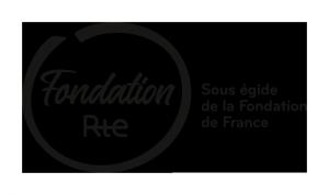 Logo de la Fondation Rte - noir