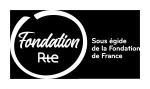 Logo de la Fondation Rte - blanc