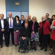 Signature de la convention entre les associations Tous vers l'emploi, TZCLD et la Fondation Rte à Rostrenen