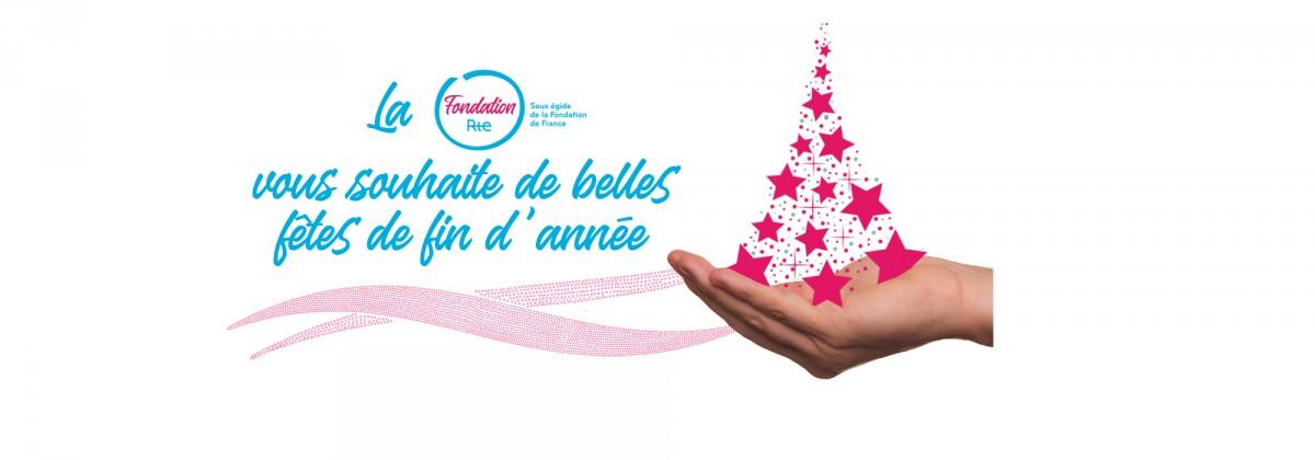 Toute l'équipe de la Fondation Rte vous souhaite de belles fêtes de fin d'année!