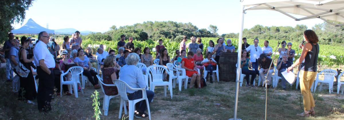 Vendredi 22 juin 2018, au domaine de Mirabeau, à Fabrègues (34), se tenait l'inauguration de Vigne de Cocagne, la première exploitation-école viti-vinicole solidaire de France.