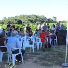 Inauguration de Vigne de Cocagne